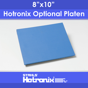 "8""x10"" Tote Master Optional Platen for Hotronix STX Heat Press"