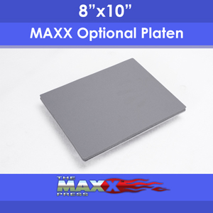 "8""x10"" Tote Master Optional Platen for Hotronix MAXX Heat Press"