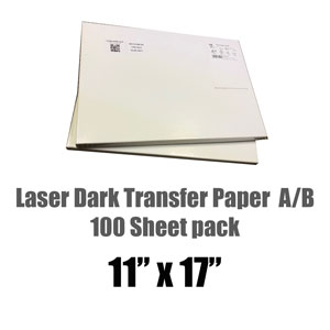 Chemica Laser Dark (NO CUT) T-shirt Heat Transfer 8.5 x 11