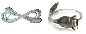 Bundle serial cable & usb adaptor for Master cutter