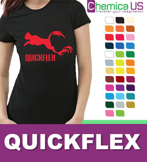 "Chemica QuickFlex Heat Transfer Vinyl 15""x22 Yards"