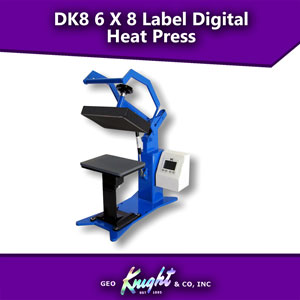 Digital Knight 6 X 8 Label Press