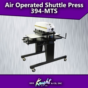 Air Op 16x20 Factory Twin Shuttle Heat Press