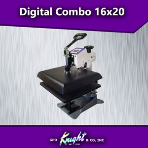 Geo Knight Digital Combo 14x16 Heat Press DC16