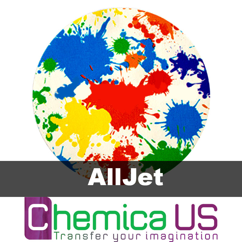 graphic about Inkjet Printable Vinyl called Chemica AllJet Inkjet Printable Vinyl Sheets 11.5x16.5
