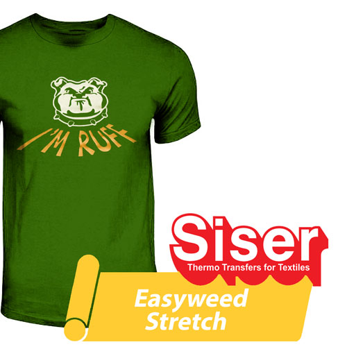 Siser Easyweed Stretch heat transfer film 15in by the yard